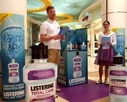 Listerine Total Care Sensitive promotion