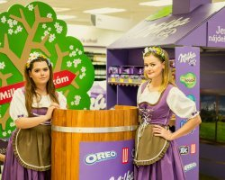 Milka Shop in shop - II.