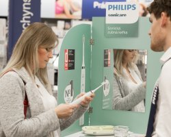 Perfectly clean teeth with Philips Sonicare