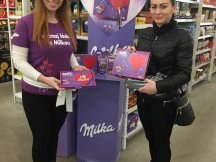 Milka Valentine - 624 promotional activities in 2 days (7)