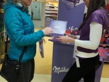 Milka Valentine - 624 promotional activities in 2 days (8)